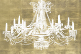 Gold Lustre II Giclee Print by Belle Poesia