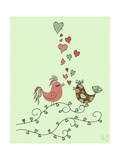 Love Birds Posters by  Fab Funky