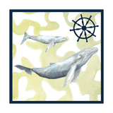Whale Composition I Posters by Megan Meagher