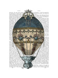 Baroque Fantasy Balloon 1 Prints by  Fab Funky
