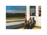 Four Lane road, 1956 Premium Giclee Print by Edward Hopper