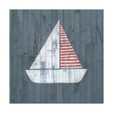 Nautical Plank I Art by Grace Popp