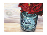Ball Jar Flower III Affiches par  Redstreake