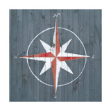 Nautical Plank III Prints by Grace Popp