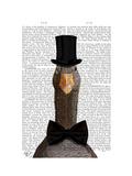 Distinguished Goose Affiches par  Fab Funky