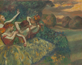 Four Dancers, c.1899 Giclee Print by Edgar Degas