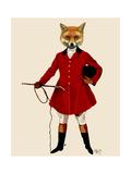Fox Hunter 2 Full Giclee-tryk i høj kvalitet af  Fab Funky