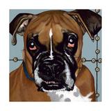 Dlynn's Dogs - Rocco Posters by Dlynn Roll