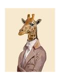 Regency Giraffe Prints by  Fab Funky