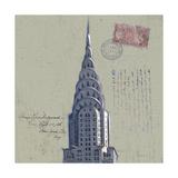 Postage Skyscraper I Print by Rick Novak