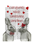 Everybunny Prints by  Fab Funky