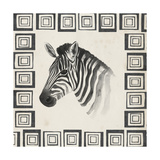 Safari Zebra II Posters by Grace Popp