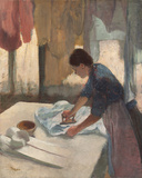Woman Ironing, c.1876 - 1887 Giclee Print by Edgar Degas