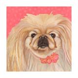 Dlynn's Dogs - Pinky Print by Dlynn Roll