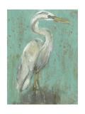 Seaspray Heron I Prints by Jennifer Goldberger