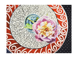 Flower on Plate I Posters by  Redstreake