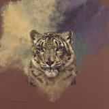 Snow Leopard Giclee Print by Stan Kaminski