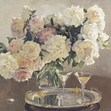 Cocktail of Roses Giclee Print by Valeriy Chuikov