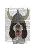 Springer Spaniel Viking Posters by  Fab Funky