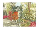 Plein Air Garden I Posters by Dianne Miller