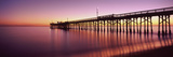 Balboa Pier at Sunset, Newport Beach, Orange County, California, Usa Photographic Print by Panoramic Images