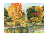 Plein Air Garden II Prints by Dianne Miller