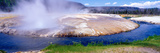 Black Sand Basin and Geyser in Yellowstone, Montana Photographic Print by Panoramic Images