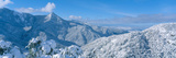 Snow-Covered Mountains in Sequoia National Park, California Photographic Print by Panoramic Images