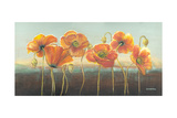 Poppy Tops III Print by Wendy Russell