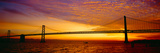 Bay Bridge at Sunrise, San Francisco, California Photographic Print by Panoramic Images
