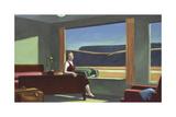 Western Motel, 1957 Premium Giclee Print by Edward Hopper