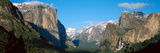 El Capitan and Half Dome Rock Formations, Yosemite National Park, California Photographic Print by Panoramic Images