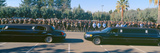 Funeral Service for Police Officer, Pleasanton, California Photographic Print by Panoramic Images