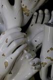 A Box Full of White Mannequin Hands in an Antique Shop Reproduction photographique par Paul Damien