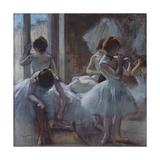 Danseuses, c.1884-1885 Premium Giclee Print by Edgar Degas