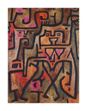 Forest Witches, 1938 Premium Giclee Print by Paul Klee