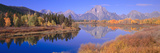 Grand Tetons Reflected in Oxbow Bend, Wyoming Photographic Print by Panoramic Images