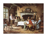 The Landlords Birthday Premium Giclee Print by Margaret Dovaston