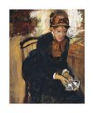 Mary Cassatt, c.1879-1884 Premium Giclee Print by Edgar Degas