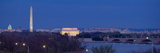 View of Washington Dc at Dusk, Washington Dc Photographic Print by Panoramic Images