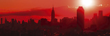 Sunset Over the City Giclee Print by Jakob Dahlin