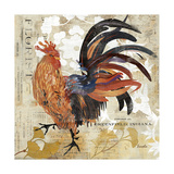 Rooster Flair III Posters by Evelia Designs