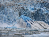 A Huge Piece of Ice, a Shooter, Surfaces after Underwater Glacier Calving Photographic Print by Jay Dickman