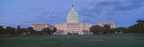Us Capitol Building at Dusk, Washington Dc Photographic Print by Panoramic Images