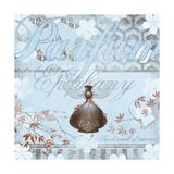Haute in Blue V Prints by Evelia Designs