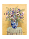 Bouquet in Asian Vase II Premium Giclee Print by Wendy Russell