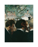 Orchestra Musicians, 1872 Premium Giclee Print by Edgar Degas