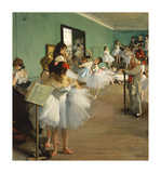 The Dance Class, 1874 Premium Giclee Print by Edgar Degas