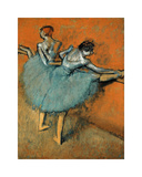 Dancers at the Barre, c.1880-1900 Premium Giclee Print by Edgar Degas