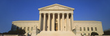 View of Entire Us Supreme Court Building, Washington Dc Photographic Print by Panoramic Images